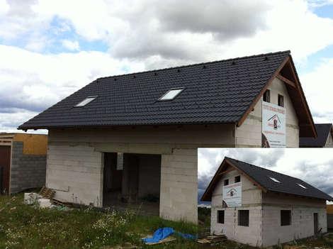 Jak se staví střecha